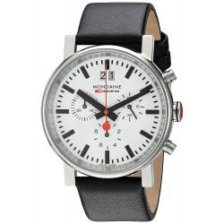 Relógio Mondaine Unisex Quartz Analog Chronograph Watch