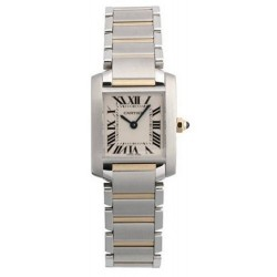 Relógio Feminino Cartier Tank Francaise Ouro 18k