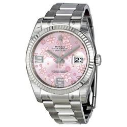 Relógio Feminino Rolex Datejust Ouro Branco 18k