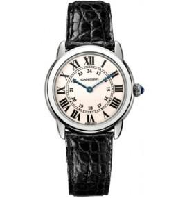 Relógio Cartier Ronde Solo Ladies Steel Watch W6700155
