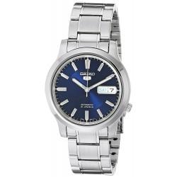 Relógio Masculino Seiko 5 SNK793 Automático de Aço Inoxidável Azul