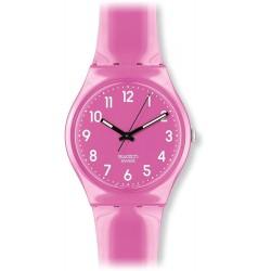Relógio Feminino Swatch Pink Plastic Watch