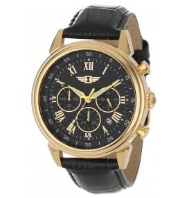 Relógio masculino Invicta 90242-003 banhado a ouro 18k