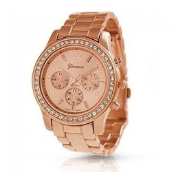 Relógio Feminino Genoria Itália Rosé