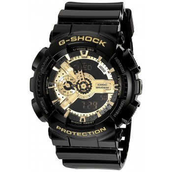 Casio G-Shock Classic Preto e Dourado X-Large Ana-Digi Watch