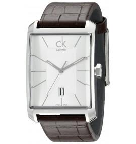 Relógio Masculino Calvin Klein  'Window' Silver