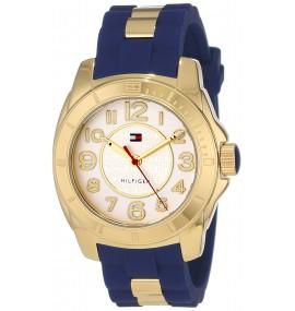 Relógio Feminino Tommy Hilfiger Casual Sport Gold Case
