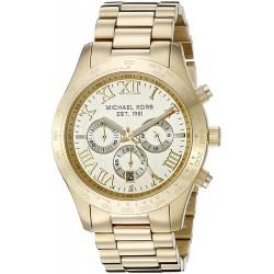 Michael Kors Men's Layton Gold-Tone Watch MK8214