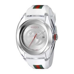 Relógio Gucci SYNC XXL Branco