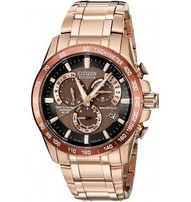 Relógio Masculino Citizen Eco Drive Rose Goldtone