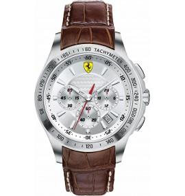Relógio Masculino Marrom Ferrari Scuderia