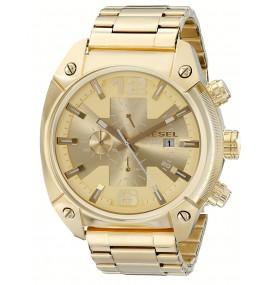 Relógio Masculino Diesel Overflow Gold