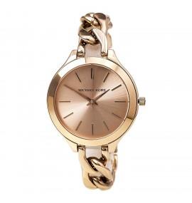 Relógio Feminino Michael Kors Slim Runway Rose Gold