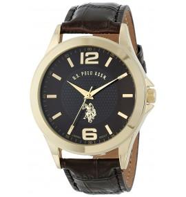 U.S. Polo Assn. Classic Masculino Analog-Quartz Brown Watch