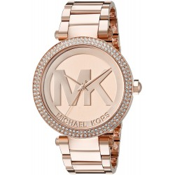 Relógio Feminino Michael Kors Ouro Rosé Glitz