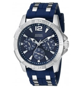 Relógio GUESS Men's U0366G2 Sporty Silver