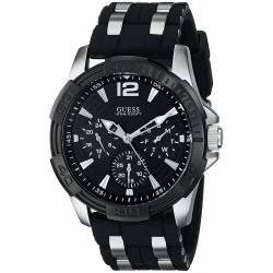 Relógio GUESS Men's U0366G1 Sporty Silver