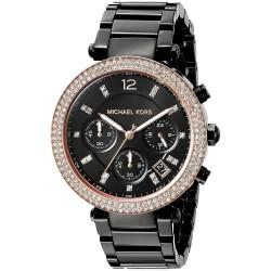 Relógio Feminino Michael Kors Black Parker
