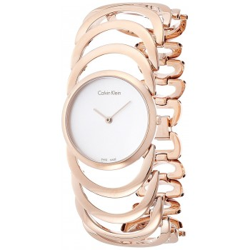 Relógio Feminino Rose Gold Calvin Klein Body