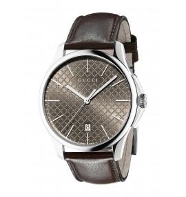 Relógio Unisex Gucci G-Timeless Display Analógico Quartz Marrom (Model:YA126318)