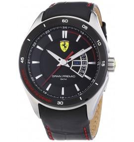 Relógio Scuderia Ferrari Mens Gran Premio Black Watch