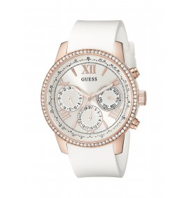 Relógio feminino GUESS Watches Silicone Strap Buckle
