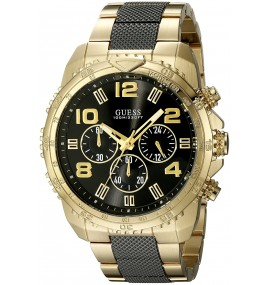 Relógio Masculino GUESS Watches Stainless Steel Deployment Buckle