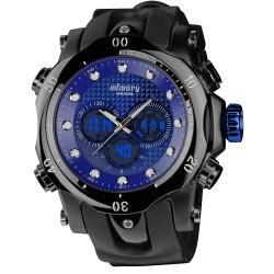 Relógio INFANTRY 51mm Militar Azul