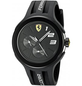 Relógio Ferrari Men's FXX Black Sport Watch