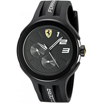 Relógio Ferrari Men's FXX Black Sport Watch