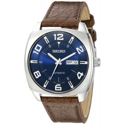 Relógio Masculino Seiko Azul Automatico