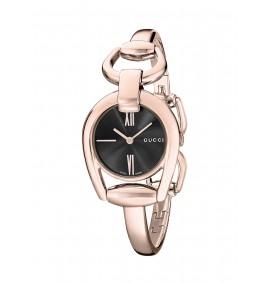 Relógio Feminino Gucci Display Analógico Quartz Rose Gold (Model:YA139507)