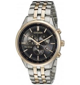 Relógio Masculino Citizen Eco Drive Two Tone Watch