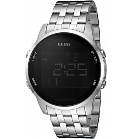 Relógio Masculino GUESS Watches Stainless Steel Pilot Buckle