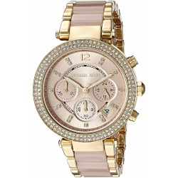 Relógio Feminino Michael Kor Parker Gold
