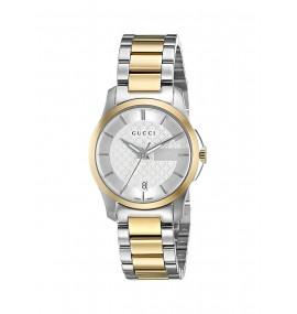 Relógio Feminino Gucci Swiss Quartz Aço Inoxidável (Model: YA126531)