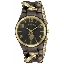 Relógio Feminino U.S. Polo Gold and Black