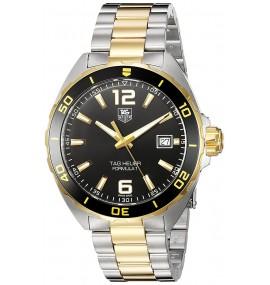 Relógio masculino TAG Heuer Swiss Quartz Gold