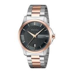 Relógio Feminino Gucci 'G-Timelss' Quartz Aço Inoxidável Prata (Model: YA126446)