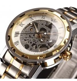 Relógio Masculino ALPS Classic Skeleton