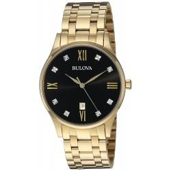 Relógio Masculino Bulova Diamonds - 97D108