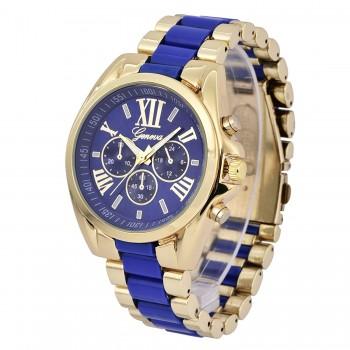 Relógio Feminino Blue Gold Genova
