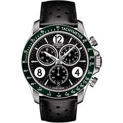 Relógio Masculino Tissot Black Leather Analog Quartz