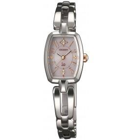 Relógio feminino ORIENT watch io Io suite jewelry solar