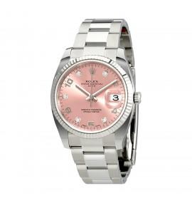 Relógio Feminino Rolex Oyster 115234PADO Perpetual Date