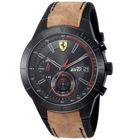 Relogio Masculino Scuderia Ferrari Red Evo