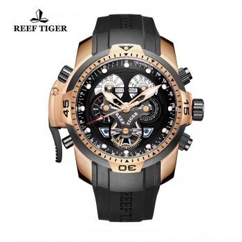 Relógio Reef Tiger Military Automático RGA3503