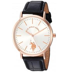 U.S. Polo Assn. Feminino Quartz Metal Casual Watch Black