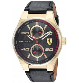 Relogio Masculino Scuderia Ferrari Gold-Tone