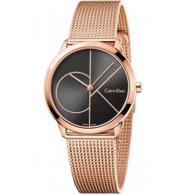 Relógio Feminino Calvin Klein Minimal Rose Gold Tone